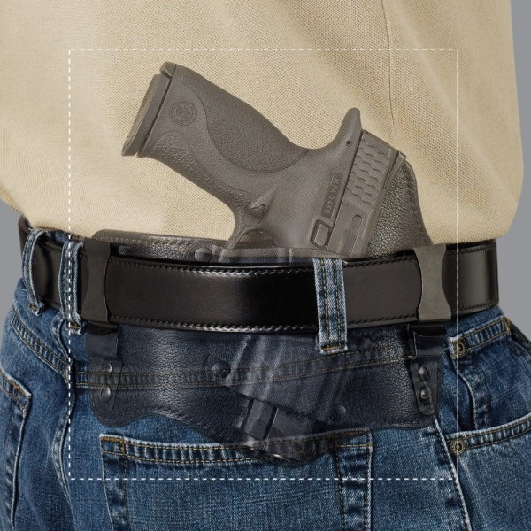 Galco Kingtuk IWB Holster For Smith & Wesson M&P 9/40 Pistols KT472B