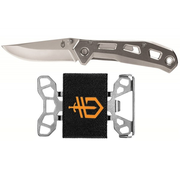 Gerber Airlift Knife & Barbill Wallet Combo 31-003540