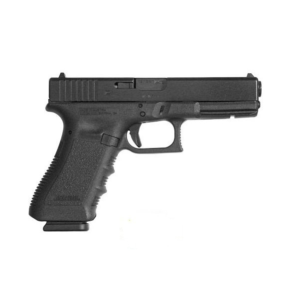 GLOCK PI1750203 17 Gen 3  9mm  Concealed Carry Pistol With 2-17 Round Magazines