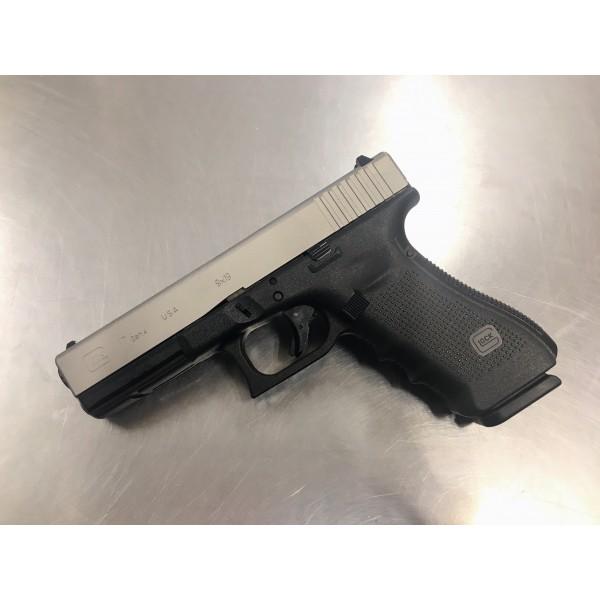 GLOCK 17 Gen 4 Titanium Cerakote 9mm Pistol