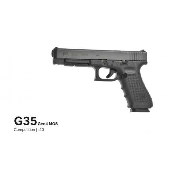 GLOCK 35 Gen 4 MOS Competition 40 Caliber Pistol