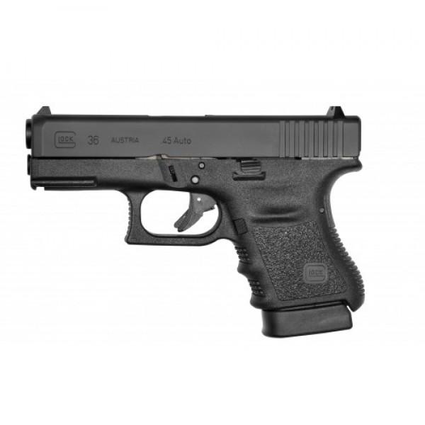 """GLOCK 36 PI3650201FGR Gen 3 45 ACP Pistol With 3.77"""" Barrel & Tactical Accessory Rail"""
