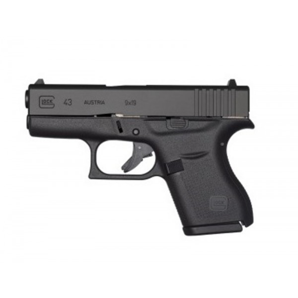 GLOCK 43 9mm Slim Line Pistol