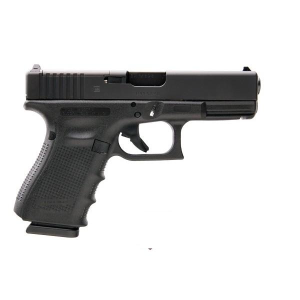 "GLOCK PG1950203MOS Model 19 Gen 4 9mm Pistol With 4"" Barrel &  3 - 15 Round Magazines"