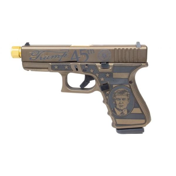 GLOCK 19 Donald Trump 45th 9mm Pistol