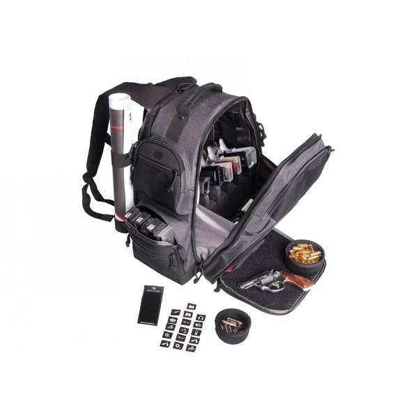 GPS Executive Backpack Gray GPS-1812BPG