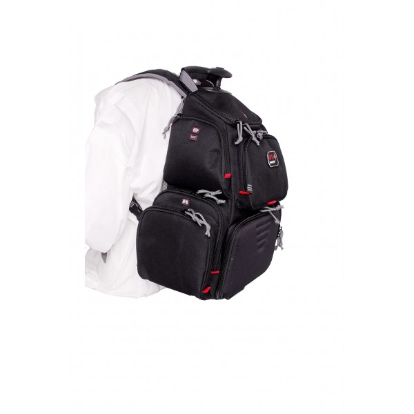 GPS Rolling Handgunner Backpack  GPS-1711ROBP