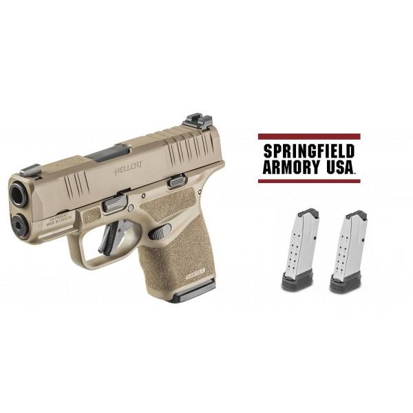 Springfield Hellcat 9mm <B>Flat Dark Earth</b> Pistol HC9319F