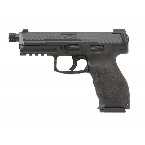 HK VP9 Tactical 9mm Pistol With 2-15 Round Magazines & Threaded Barrel M700009T-A5