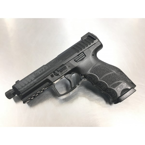 HK VP9 Tactical LE 9mm Pistol With 3-15 Round Magazines