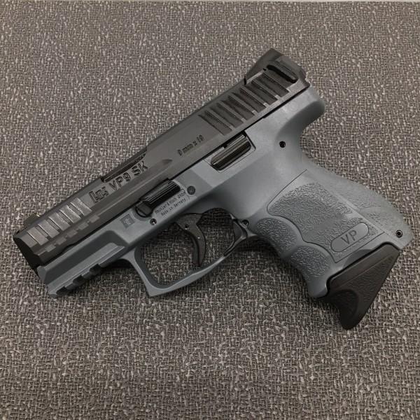 HK VP9SK 9mm Compact Pistol (Gray Frame) 81000099