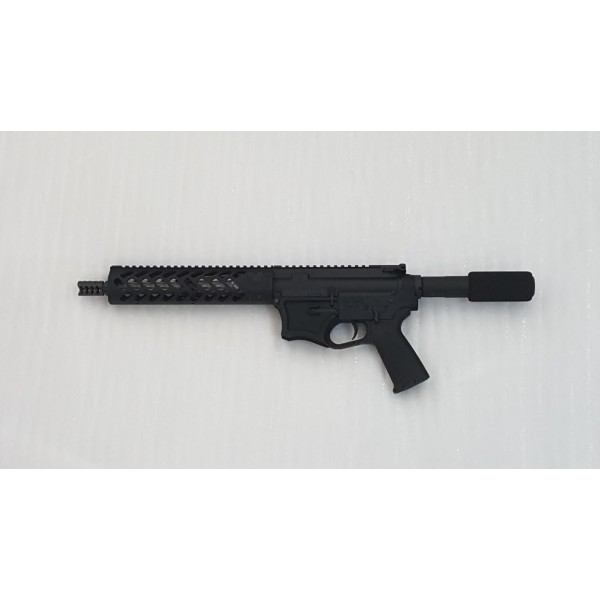 "HM Defense AR 15 5.56 Billet Pistol With 9.5"" Barrel"