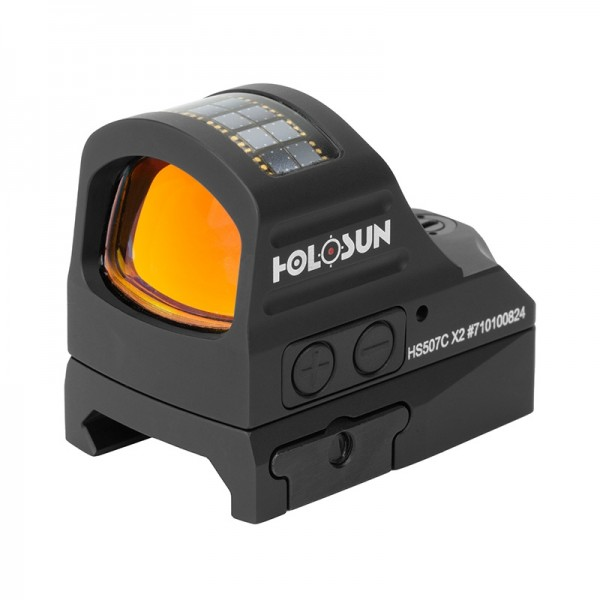 Holosun HS507C X2 Series Micro Red Dot (SOLAR) (3 Reticle Options)
