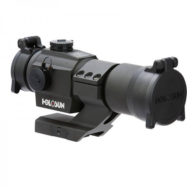Holosun HS406C 30mm Red Dot Optic W/ Mount & Solar Panel