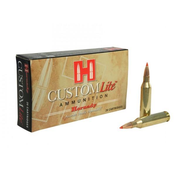 Hornady Custom Lite 270 120 Grain SST Reduced Recoil Ammunition 80526