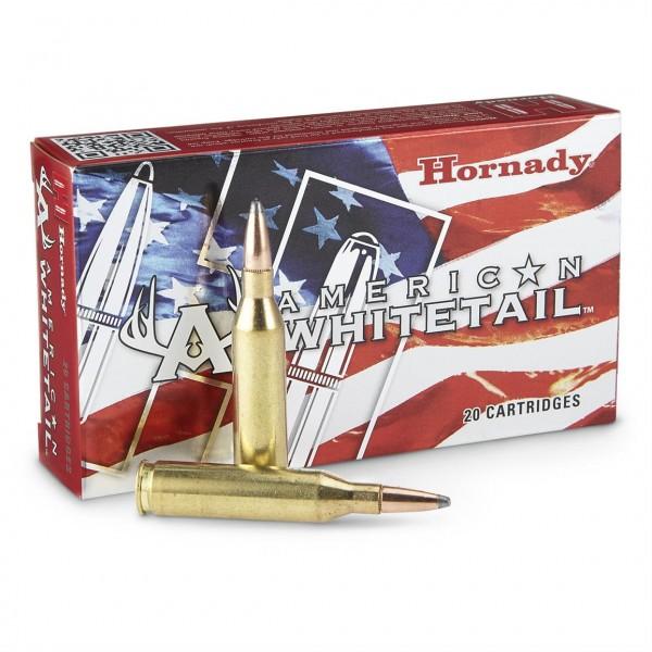 Hornady American Whitetail 243 100 Grain Ammunition 8047