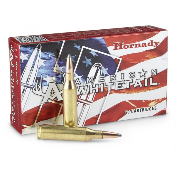 Hornady American Whitetail 7mm-08 139 Grain Ammunition 8057