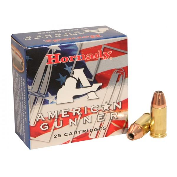 Hornady 90104 American Gunner 380 ACP 90 Grain Ammunition