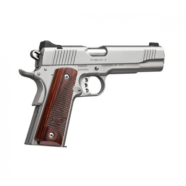 "Kimber 1911 Stainless II 45ACP Pistol With 5"" Barrel 3200328"