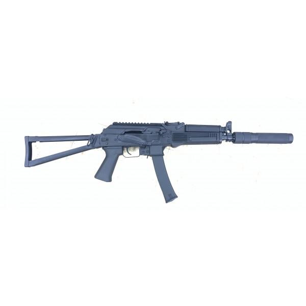 "Kalashnikov KR-9 9mm Rifle With 16.25"" Barrel & Faux Suppressor"