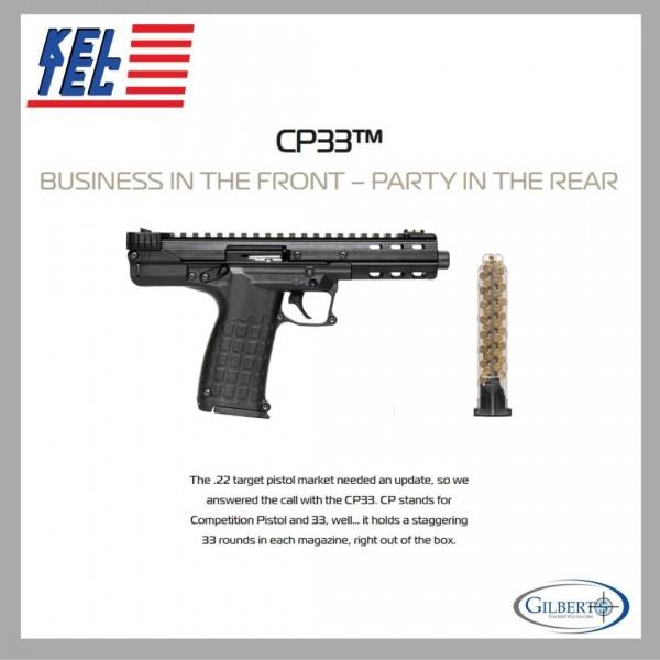 Keltec CP33 22LR Pistol