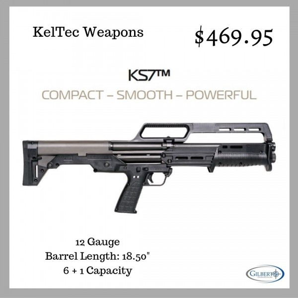 "KelTec KS7 12 Gauge Shotgun With 18.5"" Barrel"