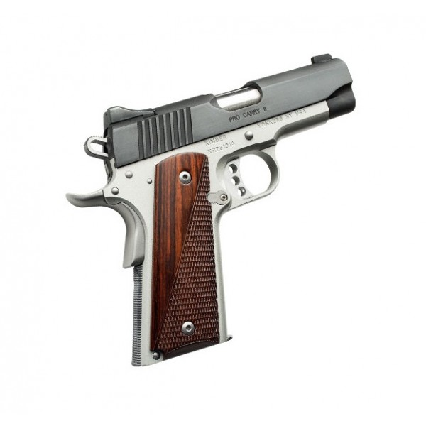 "Kimber 3200320 Pro II Two Tone 45 ACP Pistol With 4"" Match Grade Barrel"