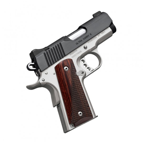 "Kimber 3200321 Ultra Carry II Two Tone 45 ACP 3"" Pistol"