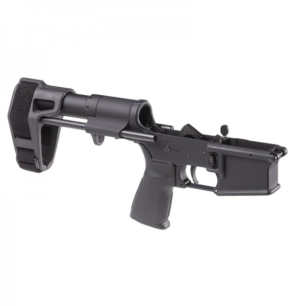 Maxim Defense MD15 Multi Caliber AR15 Pistol Lower With PDW Brace