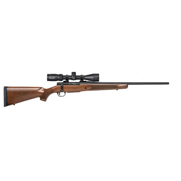 Mossberg Patriot 30-06 Rifle With Walnut Stock & Vortex Crossfire II 3-9x40 Scope 27942