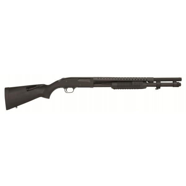 """Mossberg 50772 590 Tri Rail 12 Gauge 20"""" 9 Shot SpeedFeed Shotgun"""