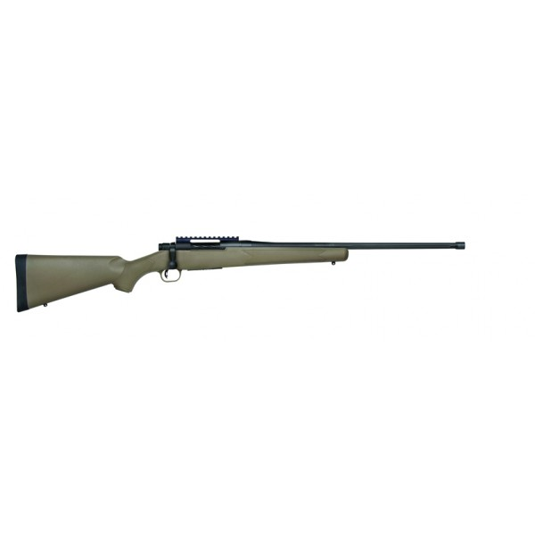 "Mossberg Patriot Predator 243 Rifle With 22"" Fluted Threaded Barrel 27873"