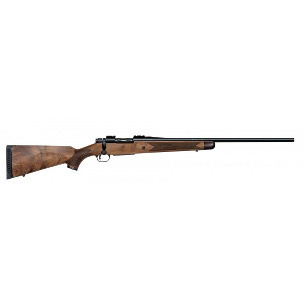 "Mossberg Patriot Revere 243 Rifle With 24"" Barrel & European Walnut Stock 27986"