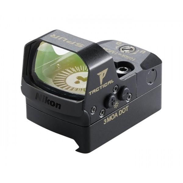 Nikon P-Tactical SPUR Reflex Sight 3 MOA Dot With Picatinny Mount 16532