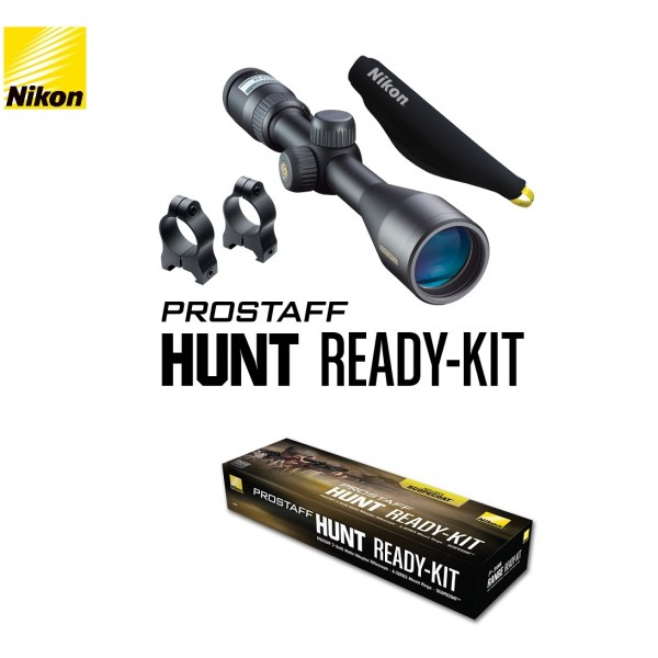 Nikon Prostaff 3-9x40 Hunt Ready Kit 16386