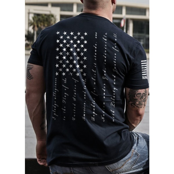 Nine Line Apparel The Pledge Mens T-Shirt