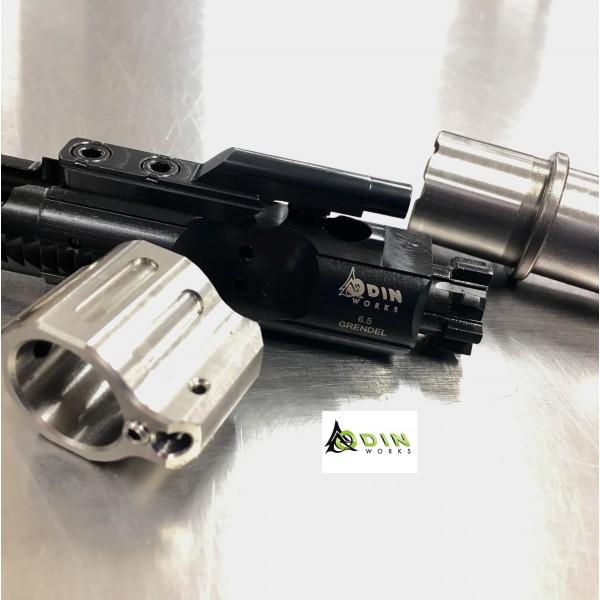"ODIN Works 6.5 Grendel 20"" DMR Barrel, BCG & Stainless Tunable Gas Block"