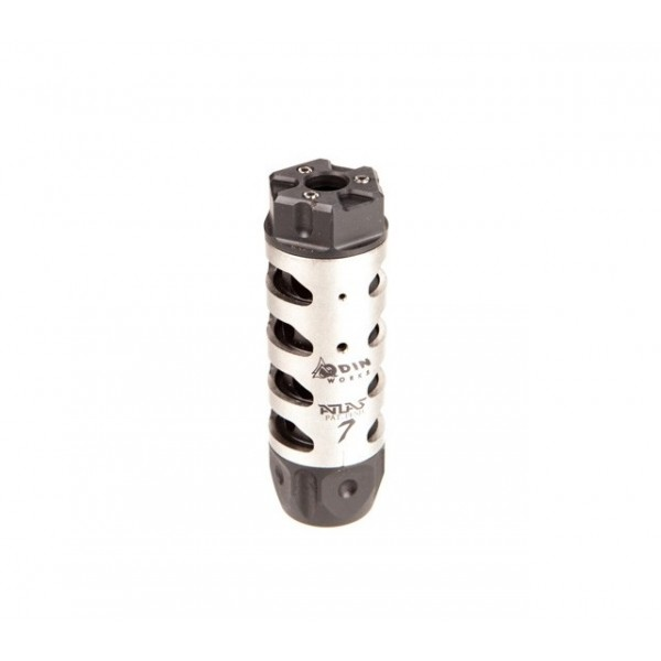 ODIN Works ATLAS 7 Compensator for 30 Caliber Rifles With 5/8-24 Threads