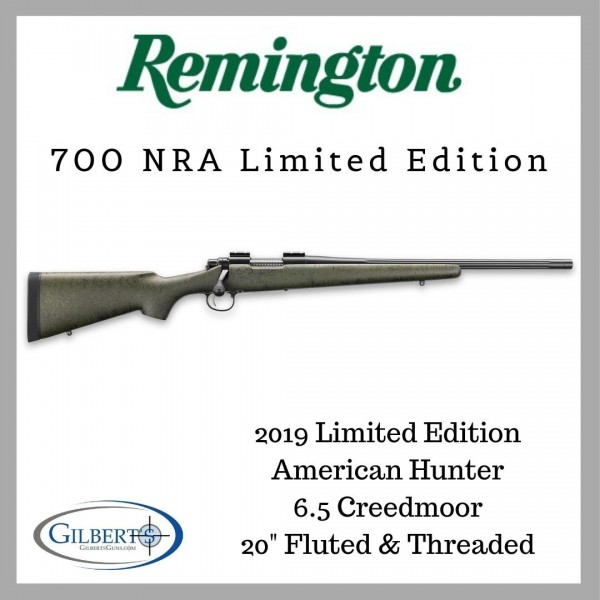 Remington 700 NRA American Hunter 6.5 Creedmoor Limited Edition Rifle 84049
