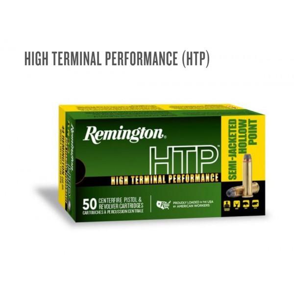 Remington High Terminal Performance 38 Special  Ammunition.