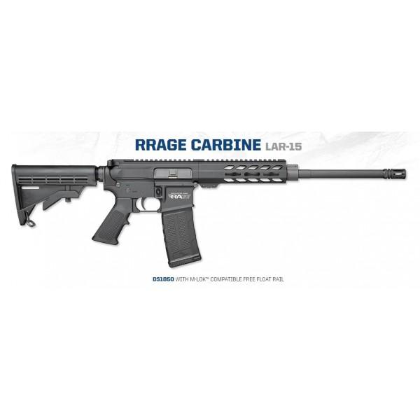 "Rock River LAR-15 RRAGE 5.56 16"" Carbine With MLOK Free Float Aluminum Handguard & 1-30 Round Magazine DS1850"