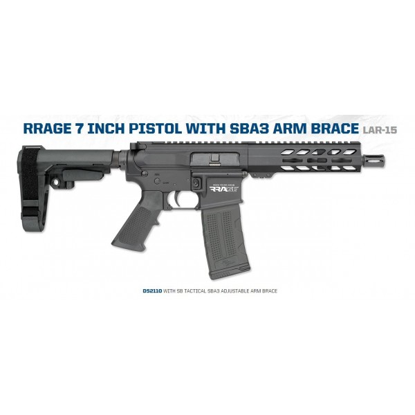 "Rock River Arms RRAGE 5.56 7"" Pistol DS2110"