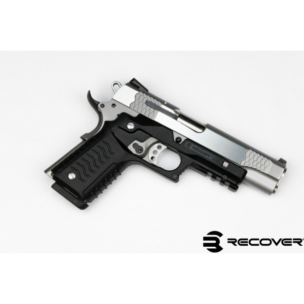 Recover Tactical CC3HB Grip & Tactical Rail System For 1911 Pistols