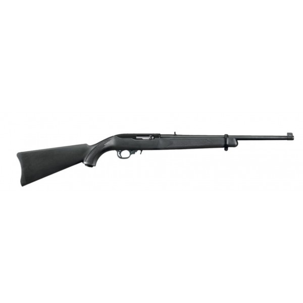 "Ruger 10/22 22LR Semi Automatic Carbine With Synthetic Stock, 1-10 Round Magazine & 18.5"" Barrel 01151"