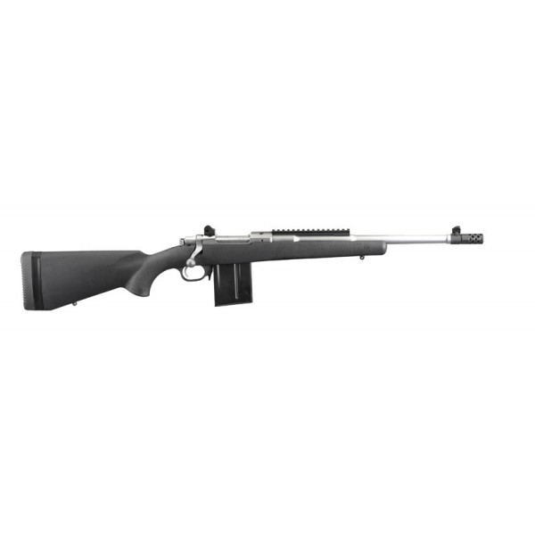 """Ruger Gunsite Scout 308 Rifle With 16.10"""" Stainless Barrel 06829"""