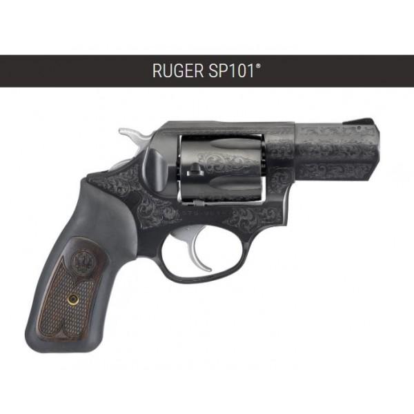 "Ruger SP101 Engraved TALO Edition 357 Magnum Revolver With 2.25"" Barrel 1570"