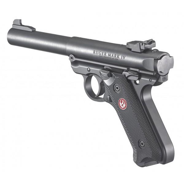 """Ruger Mark IV Target 22LR Pistol With 5 1/2"""" Barrel 40101"""