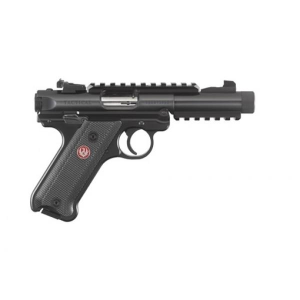 """Ruger Mark IV Tactical 22LR Pistol With 4.4"""" Barrel & Threaded Barrel 40150"""