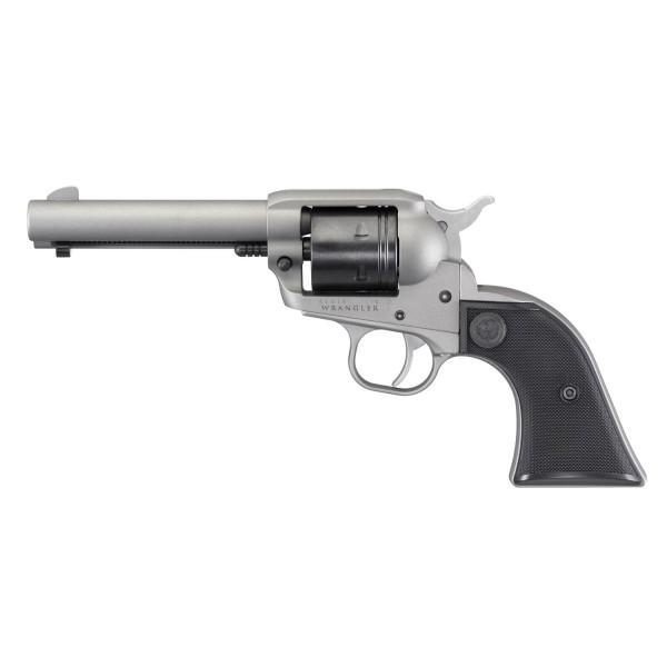Ruger 02003 Wrangler Silver Single Action Revolver