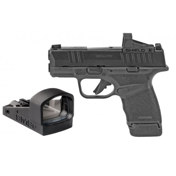 Springfield Hellcat 9mm OSP Pistol With Shield SMSC Optic HC9319BOSPSMSC